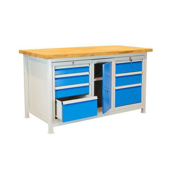 Műhelyasztal, 1500x750x850 mm