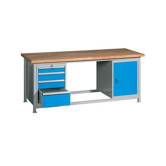 Műhelyasztal, 2000x750x850 mm