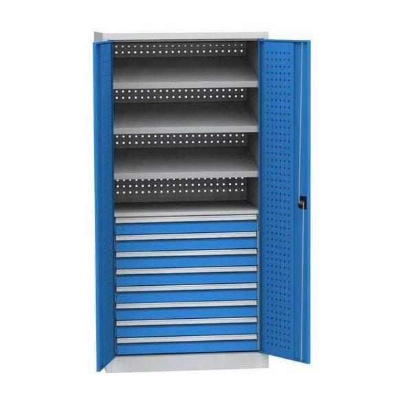 Műhelyszekrény CNC gépekhez, 950x600x1950 mm