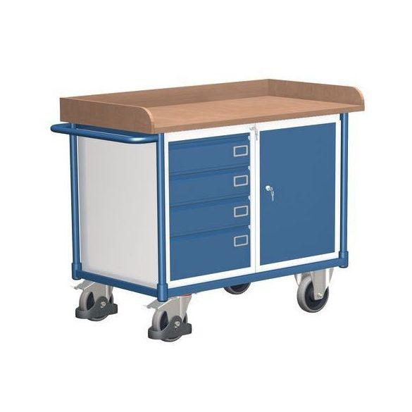 Mobil műhelyasztal, 1218x640x927 mm