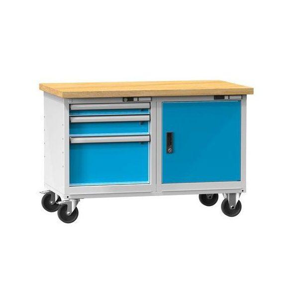Mobil műhelyasztal, 1200x700x805 mm