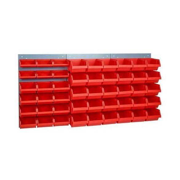 Falra szerelhető panel dobozokkal, 1200x600 mm