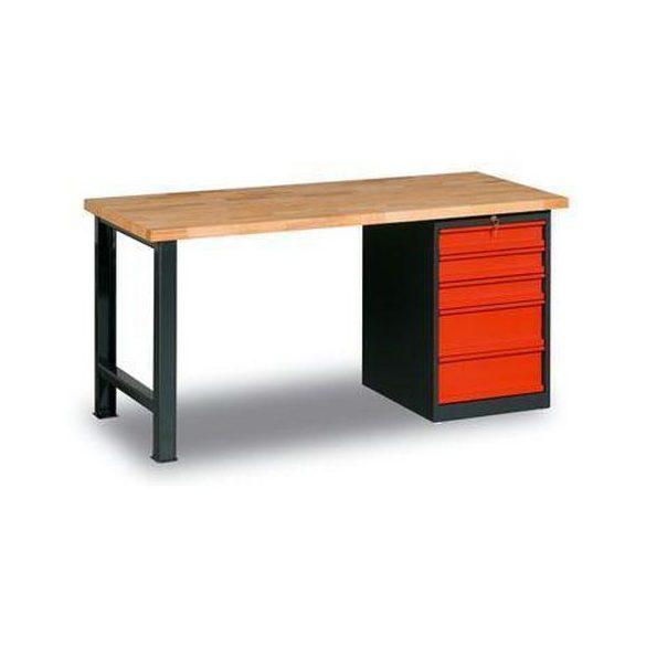 Műhelyasztal, 1500x800x840 mm