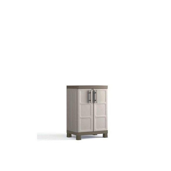 Műanyag műhelyszekrény, 650x450x970 mm