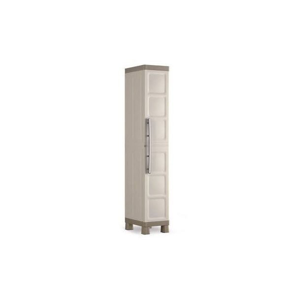 Műanyag műhelyszekrény, 330x450x1820 mm