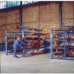 Csavar-orsóval állítható konzolos állvány, terhelhetőség: 45 t, sz x mé x m 5100x1530x2740 mm