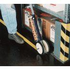 """""""ROADliner"""" jelölőkészülék, csíkszélesség 100-130 mm között állítható, 4 db kerékkel, 2 doboz festékhez"""