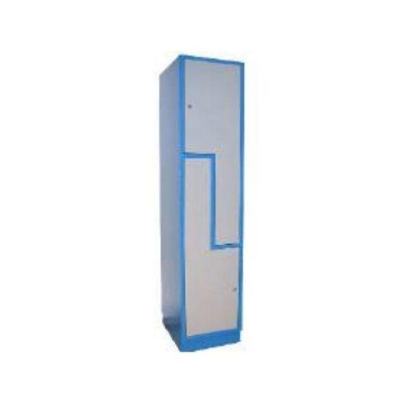 2 rekeszes Z ajtós ötözőszekrény