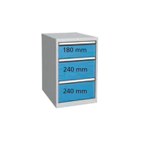 P3153 Fiókos szekrény 500x700x810 mm