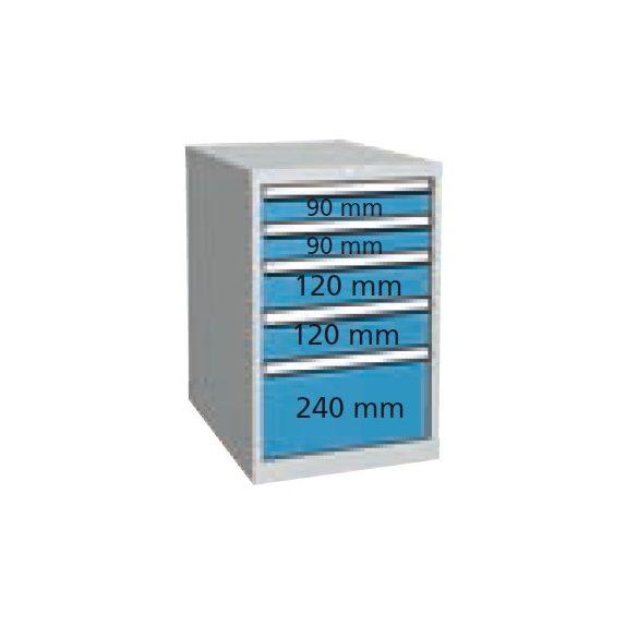 P3154 Fiókos szekrény 500x700x810 mm