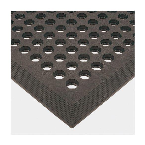 Álláskönnyítő lyukacsos gumiszőnyeg 900x1500x15 mm