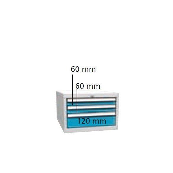P3434 Fiókos szekrény  500x700x340 mm