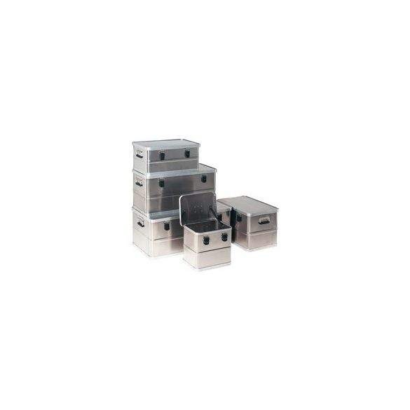 Aluminium fedeles láda 380 x 290 x 345 mm 29 L