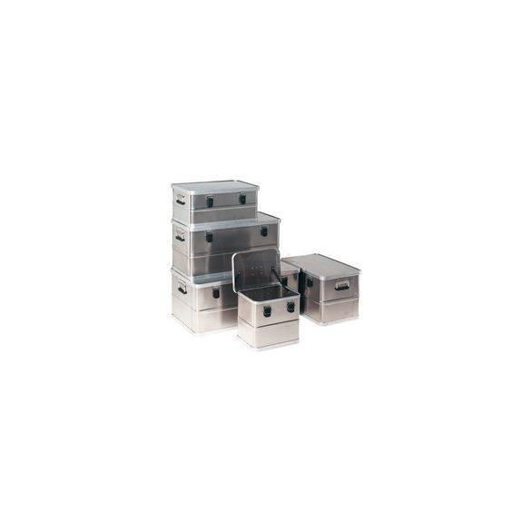Aluminium fedeles láda 770 x 370 x 380 mm 90 L