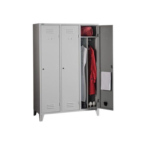 Válaszfalas öltözőszekrény 3 ajtós