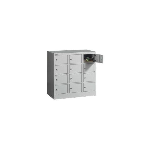 12 kisrekeszes alacsony  értékmegőrző szekrény