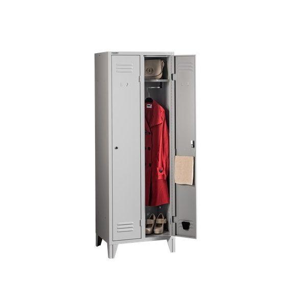 Hosszúajtós öltözőszekrény 2 ajtós