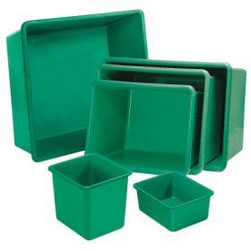 Üvegszövetbetétes műanyag edények