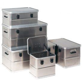 Alumínium tartályok, tároló ládák